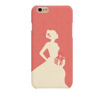 The Bride with Bouquet Hard Case