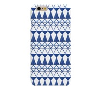Watercolor Blue Ethnic Hard Case