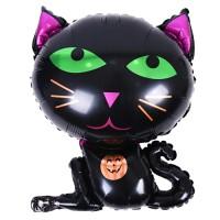 할로윈 은박풍선 슈퍼쉐입 - 검은고양이