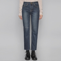 cutting point straight denim pants_(429343)