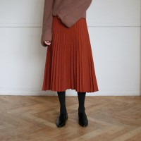 Retro pleat skirt