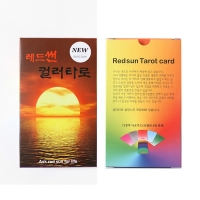 레드썬 컬러타로 Redsun color tarot (Ask Redsun for life)