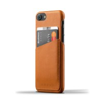 Leather Wallet Case for iPhone 7 - Tan