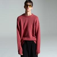 Basic normal knit (Pink)