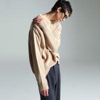 Basic normal knit (Beige)