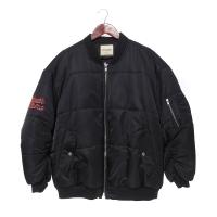 BASIC PADDING MA-1 JP BLACK [COLLECTION]