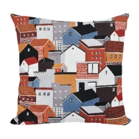 our village cushion  by kwakmyeongju