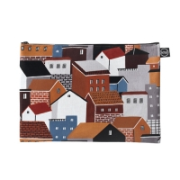 our village pouch  by kwakmyeongju