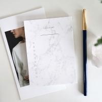 MEMO PAD - MARBLE CHECKLIST