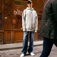 PARIS WIDE-LEG JEANS apa156 (Blue)