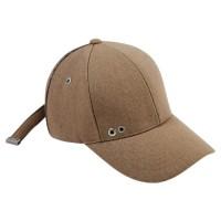 LINE POINT WOOL BASEBALL CAP aaa041(Beige)