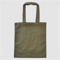 1 Paragraph Canvas Bag-Khaki