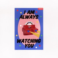POSTCARD_WATCHING YOU