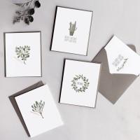 디비디 크리스마스 카드세트 - Bay Leaf