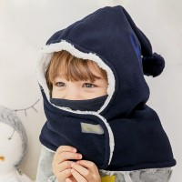[BAY-B] 아동 히트후드넥워머 네이비 목도리 머플러