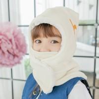 [BAY-B] 아동 히트후드넥워머 화이트 목도리 머플러