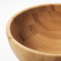 이케아 BLANDA MATT 서빙볼(대나무/20cm)_(701145384)