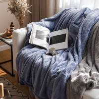 오로라 극세사 담요(2 size)-블루.