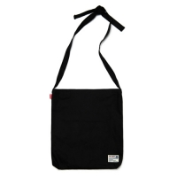 KNOTS ECO BAG - BLACK_(882405)