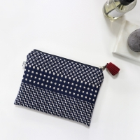 [haku.haru] mix pattern pouch