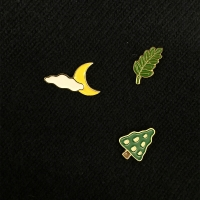 goodnight little forest 뱃지 3종