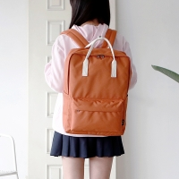 SQUARE Backpack - 브릭