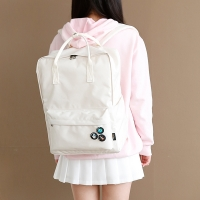 SQUARE Backpack - 아이보리