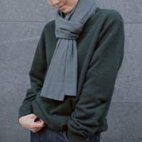 Easy Slow Scarf (DEEP GREEN)