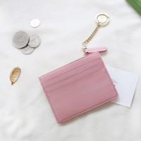 [★별자리 키링 증정] ]D.LAB Coin simple card wallet - Pink