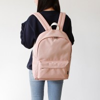ROUND Backpack - 인디핑크