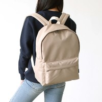 ROUND Backpack - 베이지
