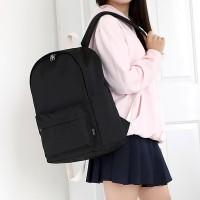ROUND Backpack - 블랙