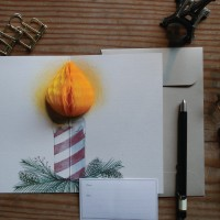 POP UP CARD_CANDLE