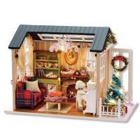 [adico] DIY 미니어처 하우스 - 레트로 크리스마스_(617321)