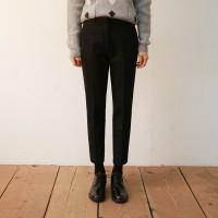 Wool slim fit slacks