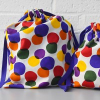 storage bag rainbow bubble