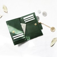 [★별자리 키링 증정] D.LAB Coin Card wallet - Green