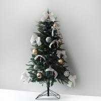 화이트 크리스마스 그린 디자인트리SET(120cm)