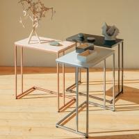 [라쏨] 맞춤형 확장 사이드테이블 책상형 Lavender (600 x 350)