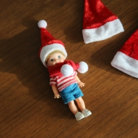 Christmas muffler & Hat (목도리+모자)
