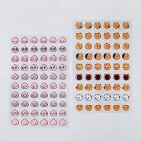 카카오프렌즈 투명 얼굴 스티커 4종_(386200)