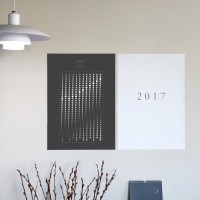 2017 moon poster