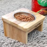 토모 원목 애견식탁세트(1구)