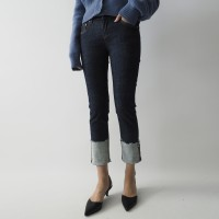 Custom roll-up jeans (2colors)