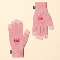 LOVE HATE SMART GLOVE (PINK)
