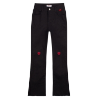 Heart Point Cutting Pants (2colors)
