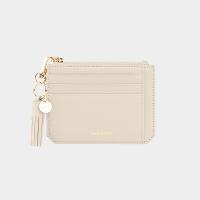 [태슬증정][살랑]Dijon M201 Flap mini Card Wallet cream beige