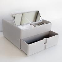 코스메틱 멀티 박스 (티슈+거울+정리)