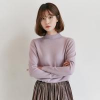 [마이블린] 예쁜 컬러 울 반목 니트 (15color)_(453279)