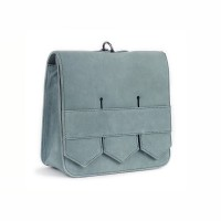 Modern fringe mini bag _Mint